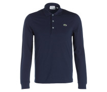 Piqué-Poloshirt Slim-Fit - marine