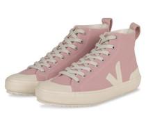 Hightop-Sneaker NOVA - ROSA/ ECRU