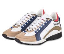 Sneaker 551 - weiss/ blau/ khaki