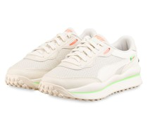 Plateau-Sneaker STYLE RIDER - CREME