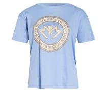 T-Shirt LEAH mit Schmucksteinbesatz