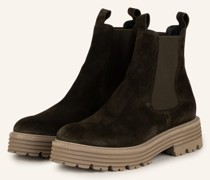 Chelsea-Boots MORI - DUNKELGRÜN