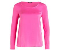 Seiden-Longsleeve - pink