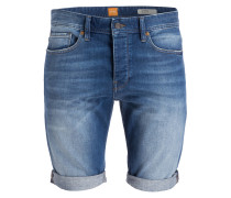 Jeans-Shorts ORANGE90 Tapered-Fit - blau