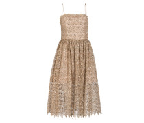 Cocktailkleid - beige/ gold