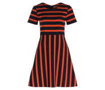 Kleid AMODY - navy/ orange gestreift