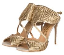 Sandaletten - gelb