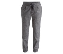 Hose im Jogging-Stil Regular Slim-Fit