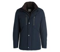 Jacke mit abnehmbarer Blende - dunkelblau