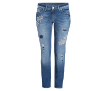 Jeans SINTY DESTROYED - blau