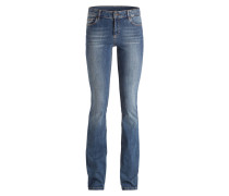 Flared-Jeans BROOKLYN - blau
