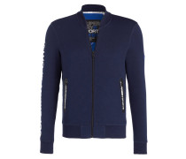 Sweatjacke GYM TECH BOMBER - blau