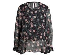 Bluse CITOPSY - schwarz/ grün/ pink