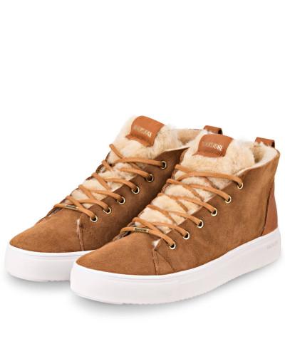 Hightop-Sneaker - COGNAC