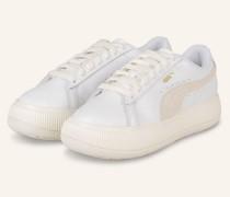 Plateau-Sneaker MAYU - WEISS