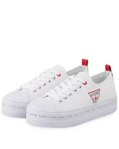 Plateau-Sneaker BRIG - WEISS
