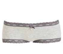 Panty - grau meliert/ dunkelgrau