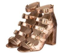 Sandalen - bronze metallc