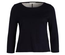 Pullover mit 3/4-Arm - blau