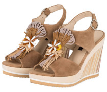 Wedges - camel