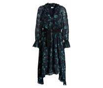 Kleid ROMILLY - navy/ grün
