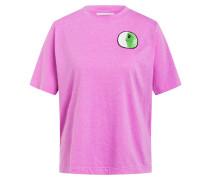 T-Shirt WAGON mit Paillettenbesatz