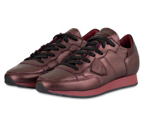 Sneaker TROPEZ - bordeaux metallic