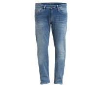 Jeans Slim Straight-Fit - blau