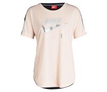 T-Shirt - rose/ schwarz