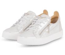 Sneaker - SILBER/ WEISS