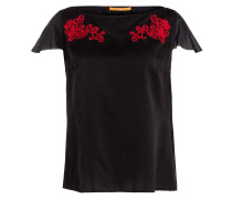 T-Shirt KASUPER mit Seidenanteil