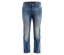 Jogg Jeans Straight-Fit - blau