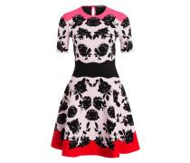 Kleid - rosa/ schwarz/ pink