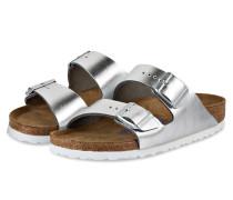 Sandalen ARIZONA - silber/ weiss