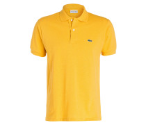 Piqué-Poloshirt Classic-Fit - gelb