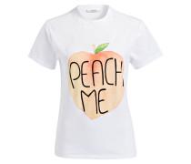 T-Shirt PEACH ME - weiss