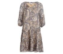 Kleid TINKA mit 3/4-Arm mit Volants