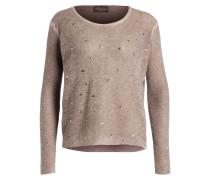 Pullover mit Nietenapplikation