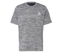 T-Shirt mit Mesh-Einsatz