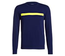 Sweatshirt NEON TAPE - blau