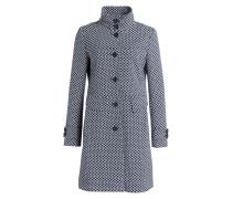 Mantel CIMERA - blau/ weiss