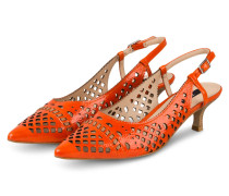 Slingpumps - ORANGE
