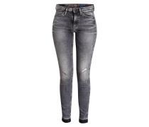 Skinny-Jeans - broken grey
