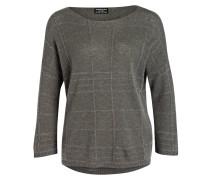 Cashmere-Pullover - altgrün