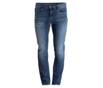 Jeans Slim-Straight-Fit - blau