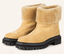 Plateau-Boots LUG SOLE - CAMEL