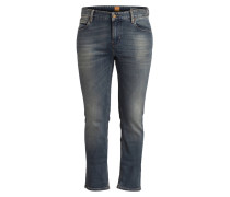 Jeans ORANGE63 Slim-Fit - blau