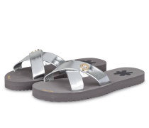 Sandalen CROSS METALLIC - grau