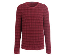 Strickpullover HEATH - rot