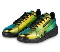 Sneaker TALON - GOLD/ TÜRKIS